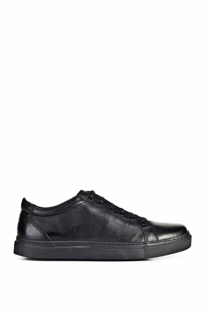 Black Men's Sport Shoes 9YEA07AY097A89