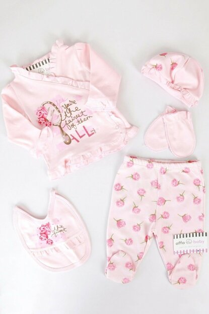 Light Pink Rose Baby Girl 5Li Hospital Outlet AF562