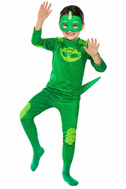 Pj Mask-PijaMascals Lizard Children Costume 7-9 Years Old 8681483653420