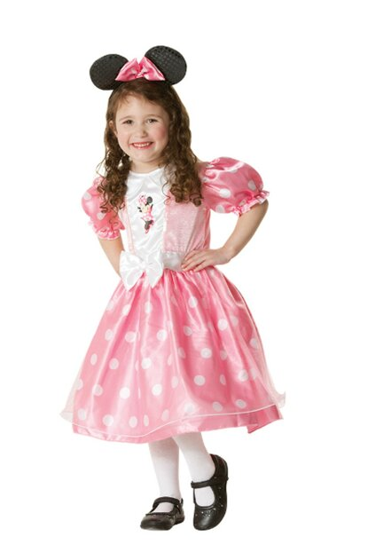 Minnie Mouse Pink Luxury Children Costume 7-8 Years Old / RUB / 884812