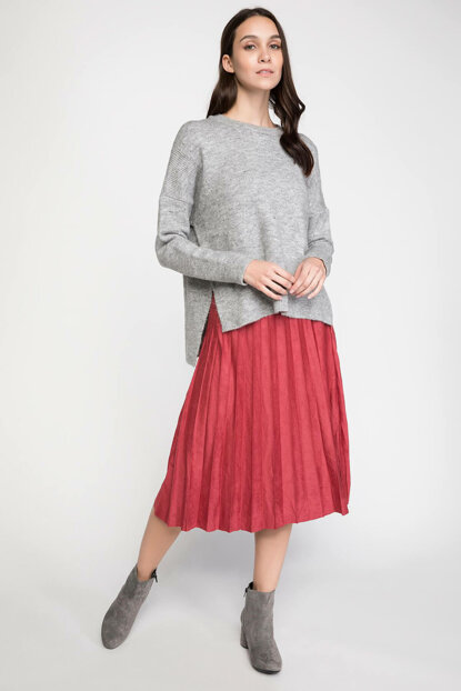 Women's Pleated Skirt K0336AZ.18AU.BR229
