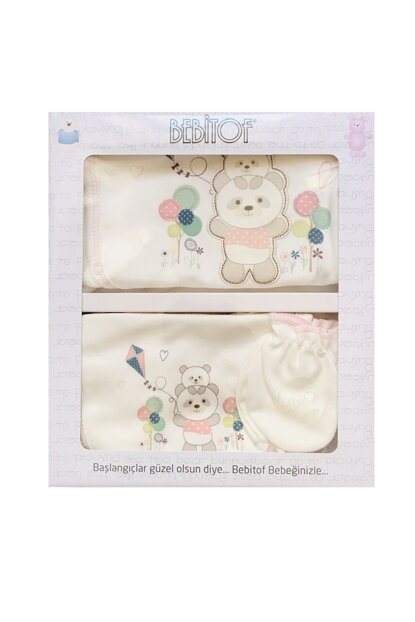 5 pieces hospital exit with panda embroidery 856