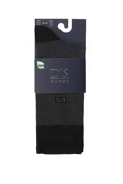 Men's Black Socks - Ds 602.003 DS 602.003