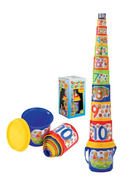 Cheerful Tower 12-storey Baby Puzzle Puzzle / 02007