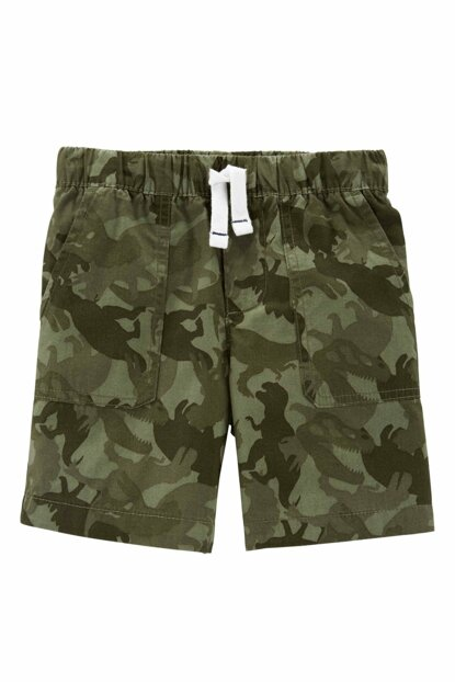 Green Baby Boy Shorts 224G833