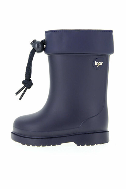 Navy Blue Unisex Children Boots W10100-AW17