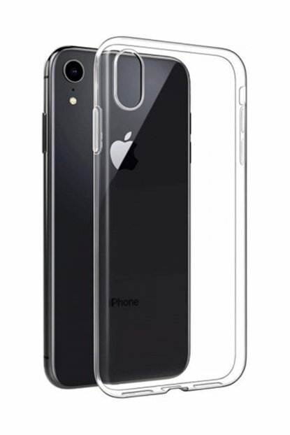 Ultra Thin Transparent Silicone Case with Iphone XR Dust Protection Plug XR-SY-145
