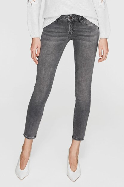 Women's Serena Ankle Gray Vintage Jean 1087028045