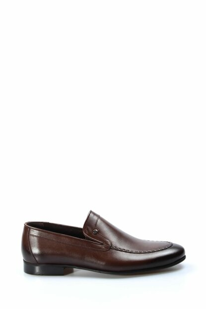 Genuine Leather Brown Men Classic Shoes 1884498