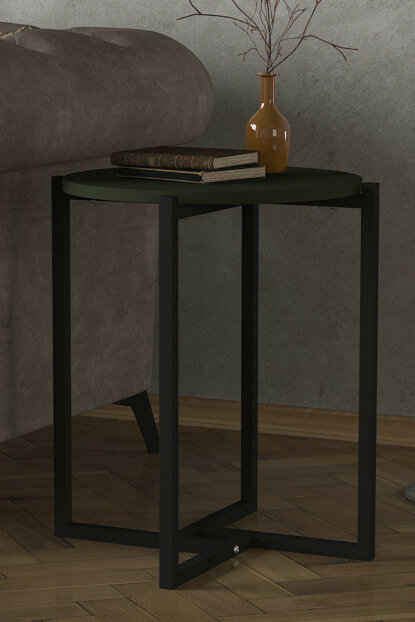 Exclusive Noce Iron Side Table Garden 8681506225405