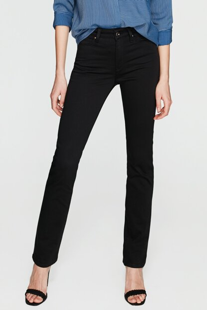 Women's Kendra Black Gold Slim Jean 1074622002