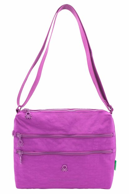 Purple Women Messenger Bag BNT44