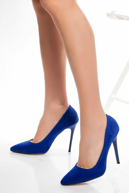 Saks Blue Women High Heels Shoes DTY1701