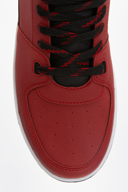 Men's Red Sport Shoes 9S2687Z8