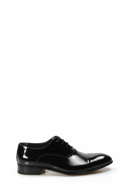 Genuine Leather Black Sizzling Patent Leather Men's Classic Shoes 1849965
