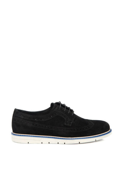 Genuine Leather Black Suede Leather Men Shoes54175A01 E19I1AY54175