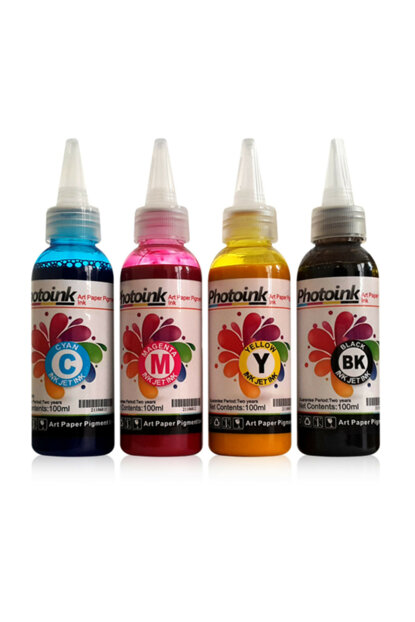 4 Colors Sublimation - 100 Gr Ink for Transfer Printing 1029.03.0231004