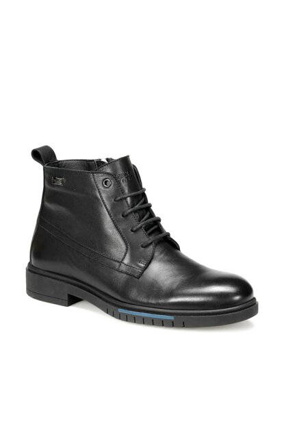Genuine Leather Black Men Boots 227332