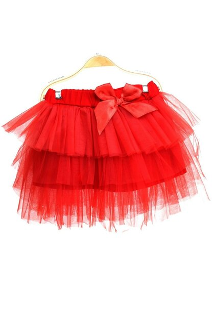 Red Children's Tutu Skirt 9937-22