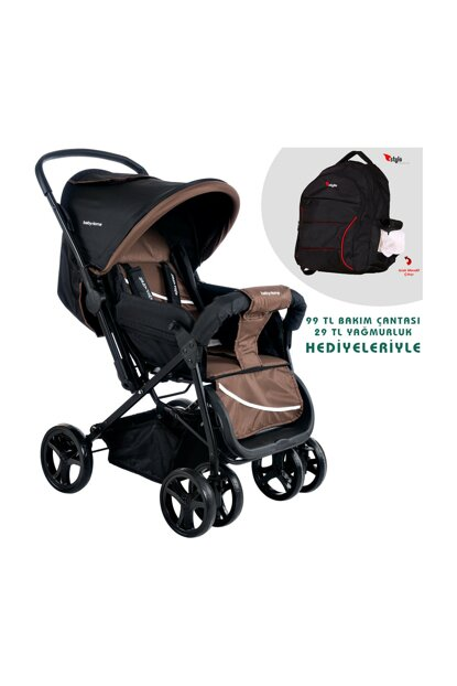 Baby Home Bh-100 Bidirectional Baby Stroller Bag With Gift 000007.000006
