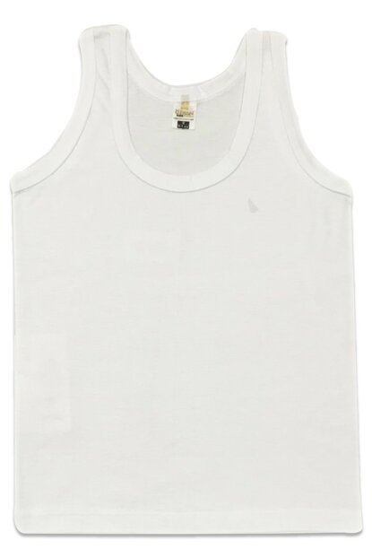 Boys' White Single Jersey Athlete 0702