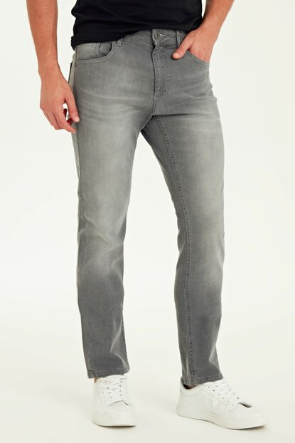 Men's Gray Rodeo Jeans 9WJ755Z8