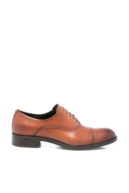 Genuine Leather Taba Leather Men Shoes54141A29 E18S1AY54141