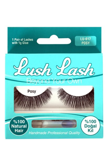 False Eyelashes - LU-617 Posy 8699067176173