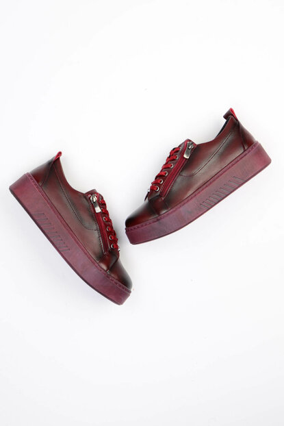 Maroon Women's Casual Shoes G0403002109