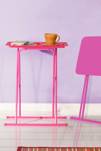 Handy Mate Foldable Tray Coffee Table - Pink HND-004-MX-P-1