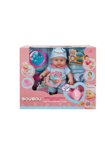 BouBou Baby and Toilet Training 30 cm. - Blue S00000976-33028