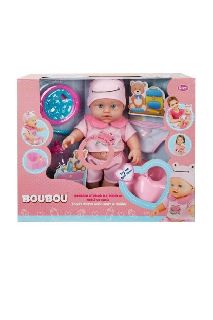 BouBou Baby and Toilet Training 30 cm. - Pink S00000976-33027