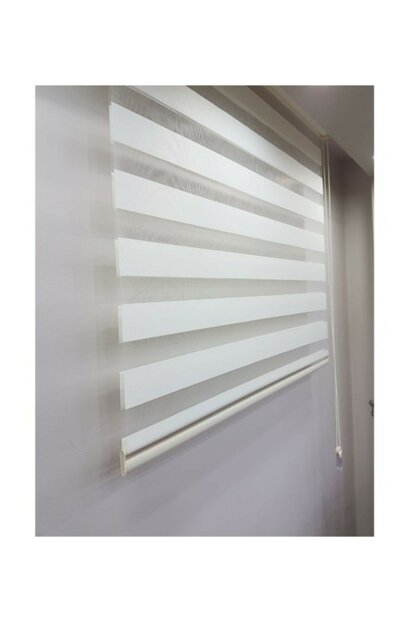 Sdney Ecru Zebra Curtain 200x260 EVRMTRND00166