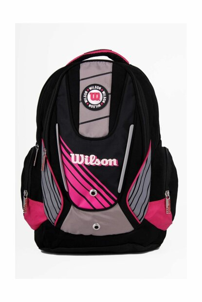 Pink Unisex School Bag wilson Backpack 50920pink