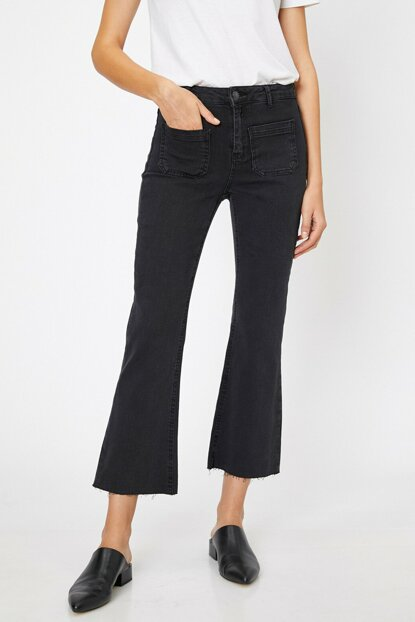 Women's Black Victoria Jean Pants 0KAK47296DD