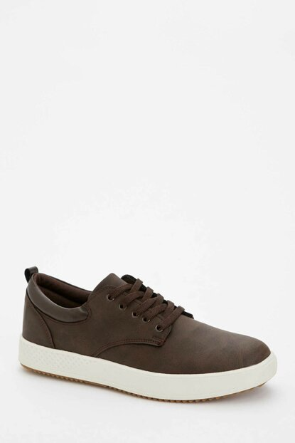 Men's Brown Lace-up Sneaker M1112AZ.19AU.BN45