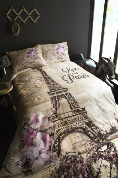 İssimo Home Parıs Ranforce Duvet Cover Single 8699079339573