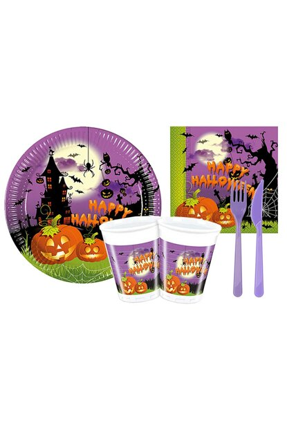 Halloween Happy Halloween Affordable Tableware Set 8 Seater 86 Pieces AY-SET-0608