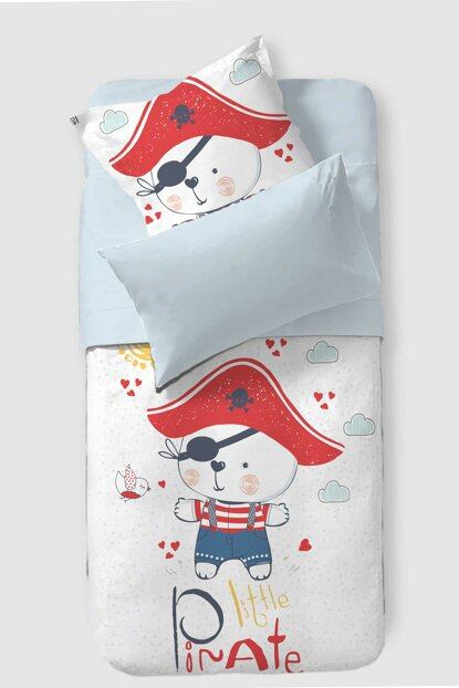 Baby Duvet Cover Set Pirate 8681235015605