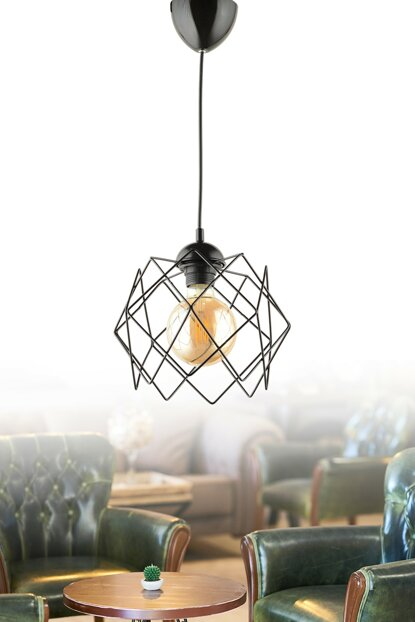 New Silvano Black Pendant Lamp ASY219