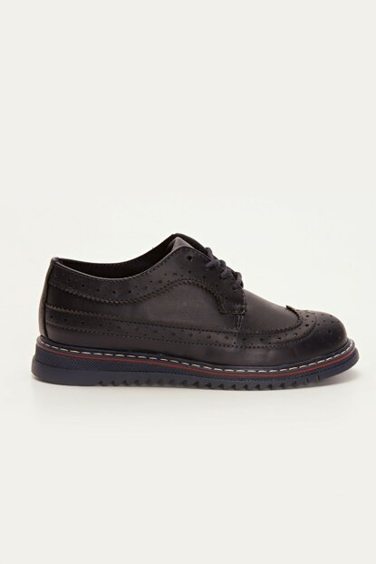 Boys' Navy Blue Crp Shoes 9W4104Z4