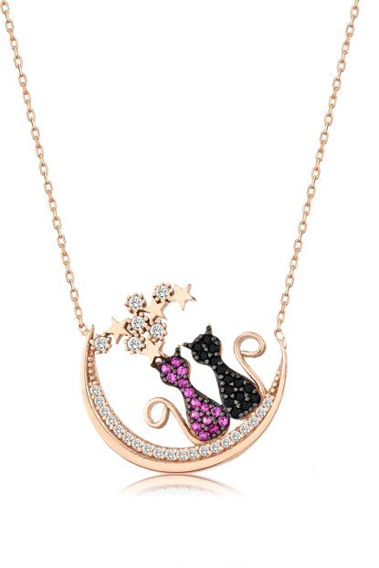 Women's 925 Cat Necklace MA_KL_1454