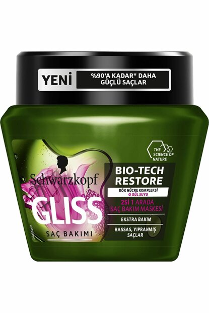 Gliss Bio-Tech Hair Care Mask 300ml 4015100298161
