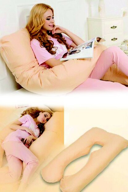 5 Different Region Supported Maternity Pillow (Yellow) EL1885
