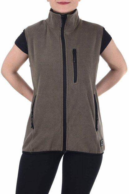 Ghassy Co.Women Sports Fleece Vest 869866021