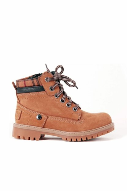 Genuine Leather Cinnamon Boy Kids Boots 8K8NB96224