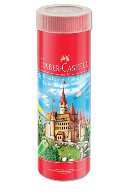 FABER-CASTELL DRY PAINT, 36 COLORS, METAL TUBE 107376