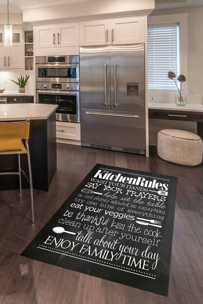 Kitchen Patterned Digital Printed Carpet RSP001602