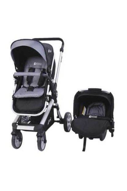 Star Baby Rabbit Two Way Travel System Baby Stroller Black T38080