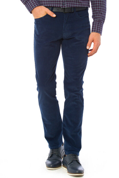 Men's Navy Blue Trousers 7K5503Z8